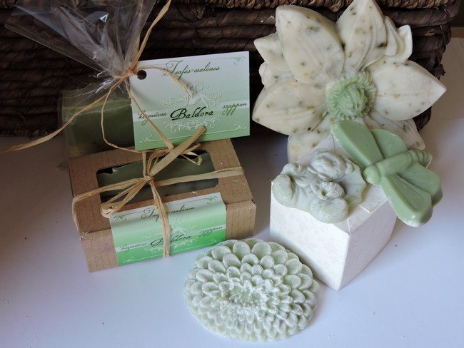 Virágos szappan